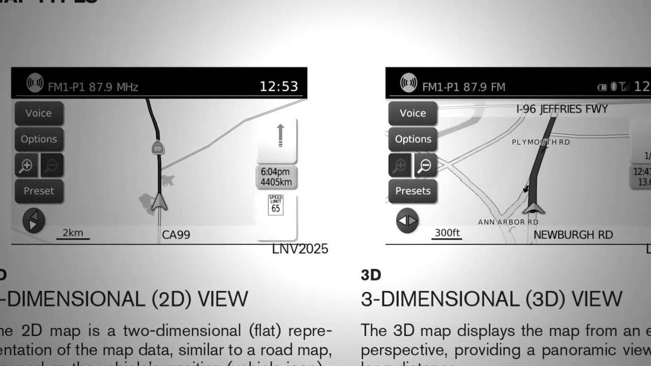 Nissan Altima: Displaying user guide