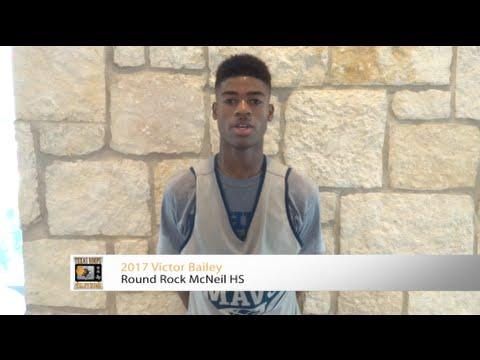 2017 Victor Bailey - Round Rock McNeil