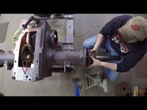 Minneapolis-Moline 445 Prototype #X231 - Part 33: BULL GEAR SUCCESS!!!