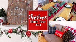 Christmas Home Decor Tour || VLOGMAS DAY 9