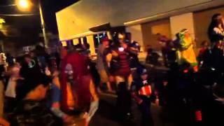 Houma Halloween parade