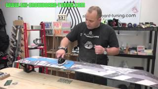 How to Service Your Snowboard Full Video - Ski Snowboard Tuning