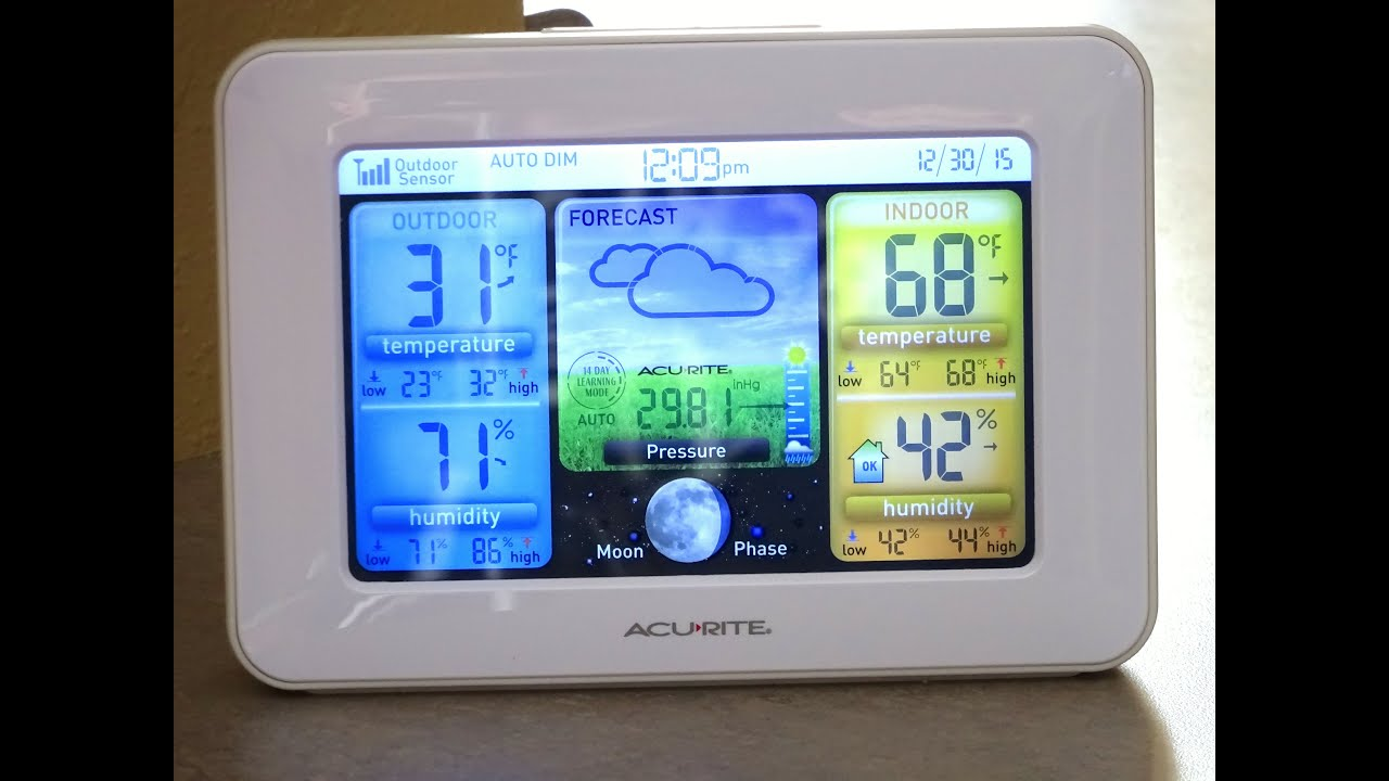 AcuRite Weather Station Review YouTube