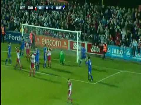 FAI Cup 2009 - Semi Final - Sligo Rovers 1-0 Waterford United