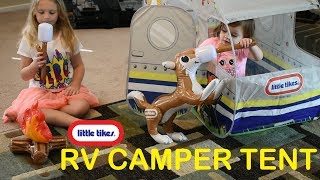 Little Tikes RV Camper Tent GIVEAWAY!