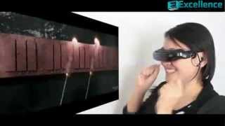 Virtual Screen Cinema Glasses   Video Glasses With 72 inch Large Virtual Display Screen