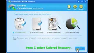 Deleted File Recovery Software▬Daossoft Data Restore