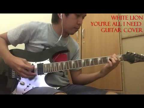 White Lion - You're All I Need Guitar Cover (No Backing Track)