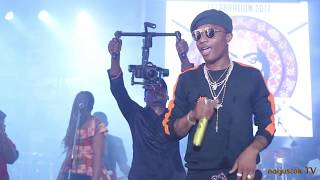 Wizkid Best Moments At Felabration 2017