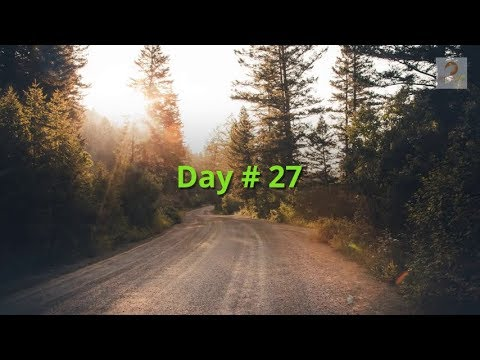 30 Days to Transforming Your Life Day # 27