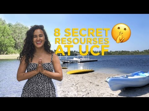 8 Secret Resources at UCF! | The Campus Knights