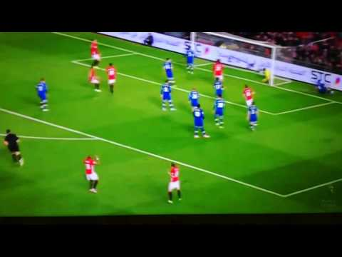 Daley Blind Free-kick! (So close!!)
