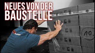 David baut sein Traum Gym - Neues von der Baustelle am Body Power Studio Weißenthurm