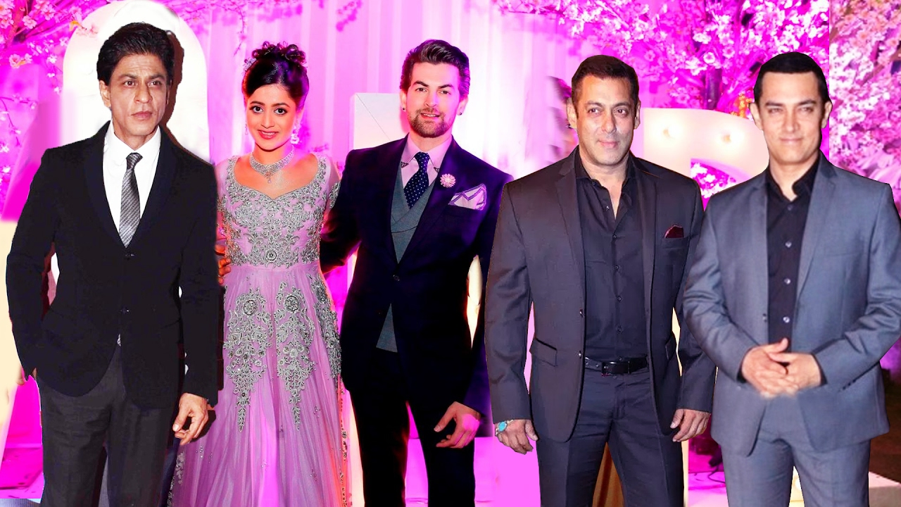 Shahrukh Salman Aamir Khan To Attend Neil Nitin Mukesh S Wedding Reception