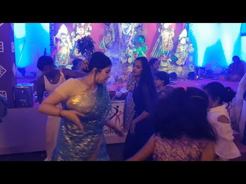 Dhak Naach Dance at Durga Puja 2018 Bangalore Oikotan Hebbal Durgotsav|Rishabh Chatterjee|DhakSound