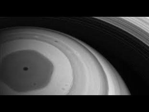 В НАСА были шокированы увиденным. Шестиугольник Сатурна