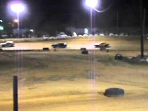 Mini Stock Race at Beebe Speedway 6-1-12 part 3