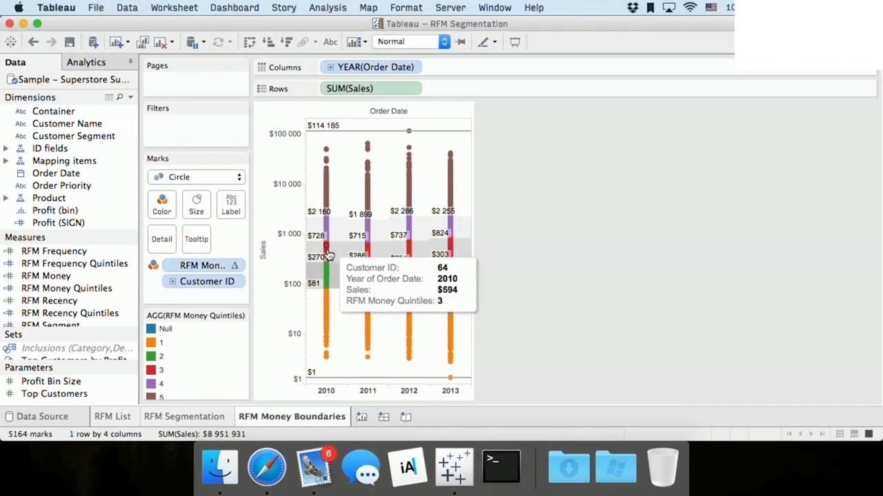rfm анализ в tableau как сделать анализ продаж спящие клиенты  rfm анализ в tableau как сделать анализ продаж спящие клиенты