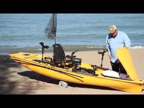 Hobie miragedrive underwater clips doovi for Fissot fishing kayak
