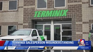 Terminix Pest Control clarifies scam misunderstanding about their salespeople (4:30 p.m.)