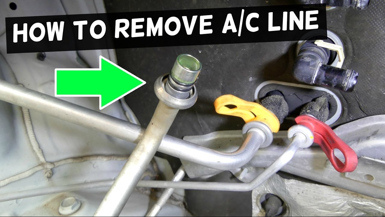 How To Remove A C Line On Car Ac Disconnect Tool Youtube 2003 Honda Accord Headlight Wiring Harness Premium