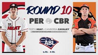 Canberra Cavalry Baseball Club Live Video Stream Series 10 Game 4 - Perth vs Canberra