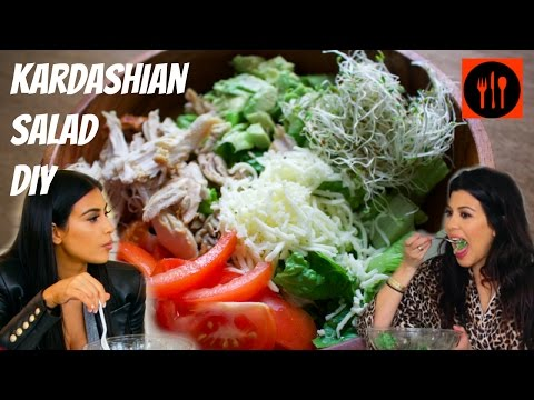 Kardashian Salad | Chicken Chef Salad