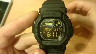 Casio G Shock GD-350-1BER Watch Review