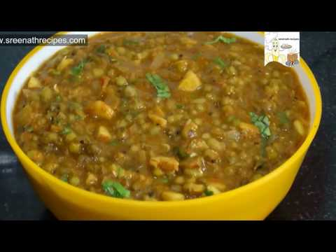 Green Gram Curry | Green Gram Tomato Curry | Cherupayar Curry
