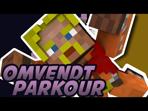 OMVENDT PARKOUR?! - Stuck to The Ceiling :: Dansk Minecraft