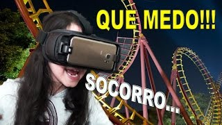 PLAYING WITH VIRTUAL REALITY -  FEAR !!!