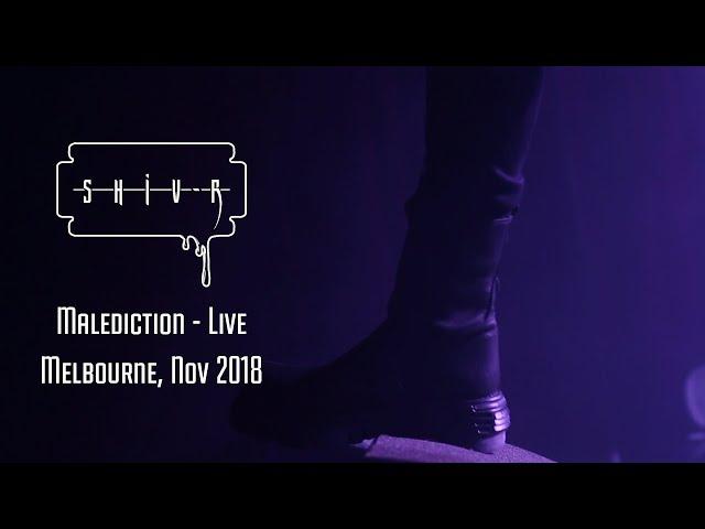 SHIV-R - Malediction - Live, Melbourne Nov 2018