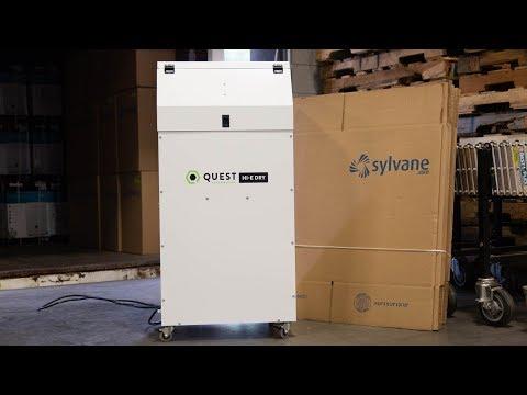 Quest Hi-E Dry 195 Dehumidifier