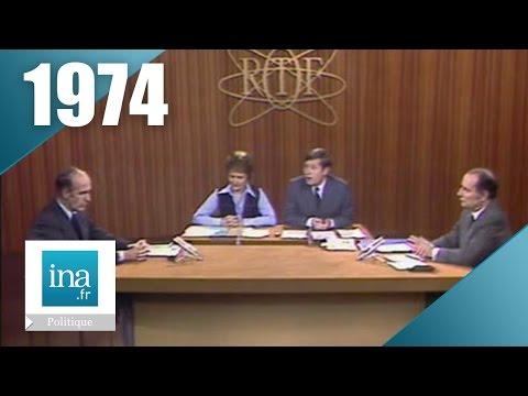 1974 : débat présidentiel Valéry Giscard D'Estaing / François Mitterrand | Archive INA