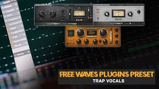 Free Waves Plugins Presets for Mixing Vocals