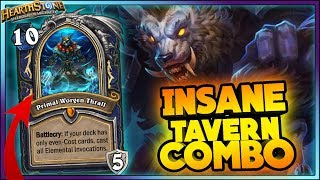 WITCHWOOD TAVERN COMBO! WTF Moments - Hearthstone Daily Funny Rng Moments