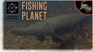 [Fishing Planet] Episode 8 - Alligator Gar with Crank Bait