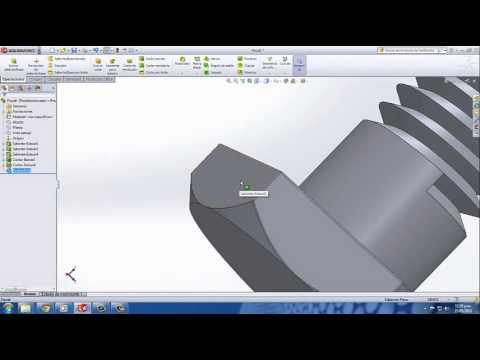 Video Tutorial Virtual Tornillo Tuerca Rosca Solidworks
