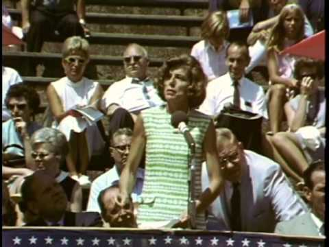 1st Special Olympics World Games-Eunice Kennedy Shriver