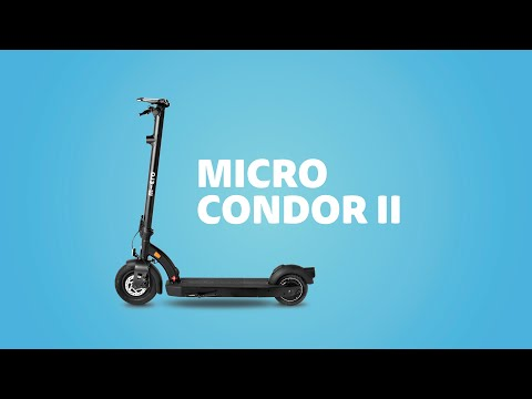 Micro Condor II - The SUV of E-Scooters