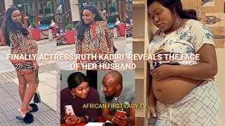 Finally! Ruth Kadiri Reveals The face of her Baby Father   Ruth Welcoming Baby Soon