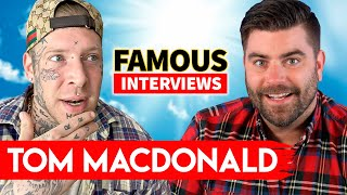 Tom MacDonald | Famous Interviews | About His Life Before Fame, Billboard, Eminem & More