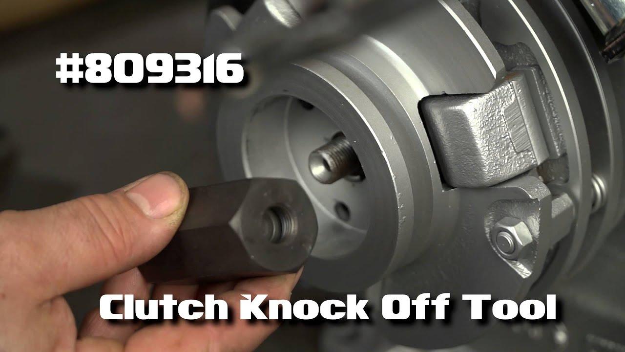 medium resolution of 809316 cushman clutch knock off tool