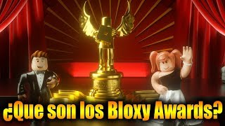 ¿QUE SON LOS BLOXY AWARDS? (ROBLOX)