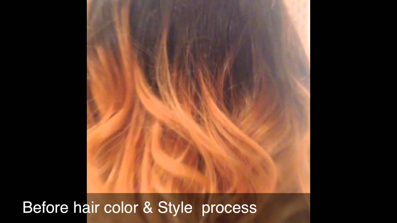 California Style Hair Color Studiouz Video California Style Hair Color  Youtube