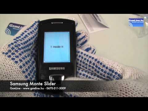 Samsung E2550 Monte Slider | GsmLine.hu