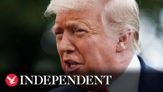 Donald Trump accuses Joe Biden of 'plagiarising' economic plan