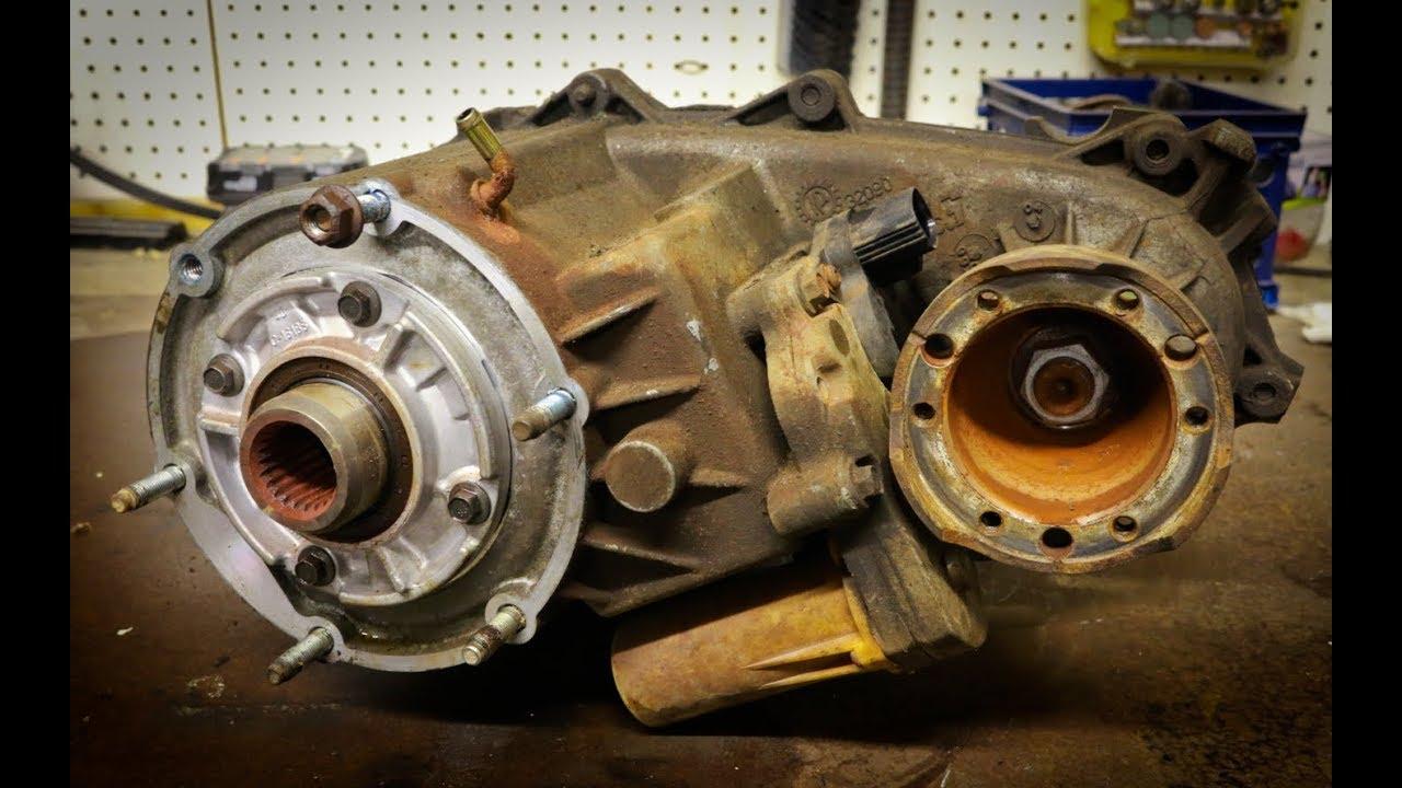 Transfer Case Removal - Dodge Dakota