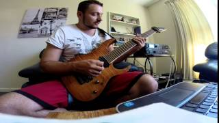 Allan Holdsworth Lesson - Joint Ventures Solo breakdown with tab