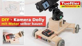 Motorbetriebener Kamera Dolly selber bauen - einfache Alternative zum Kameraschlitten - DIY
